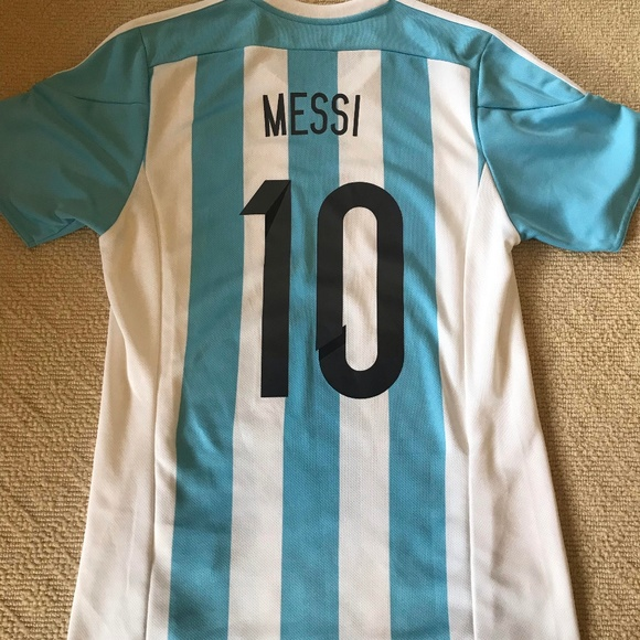 buy online 02008 bc959 Lionel Messi - Argentina 2015 Home Kit - M
